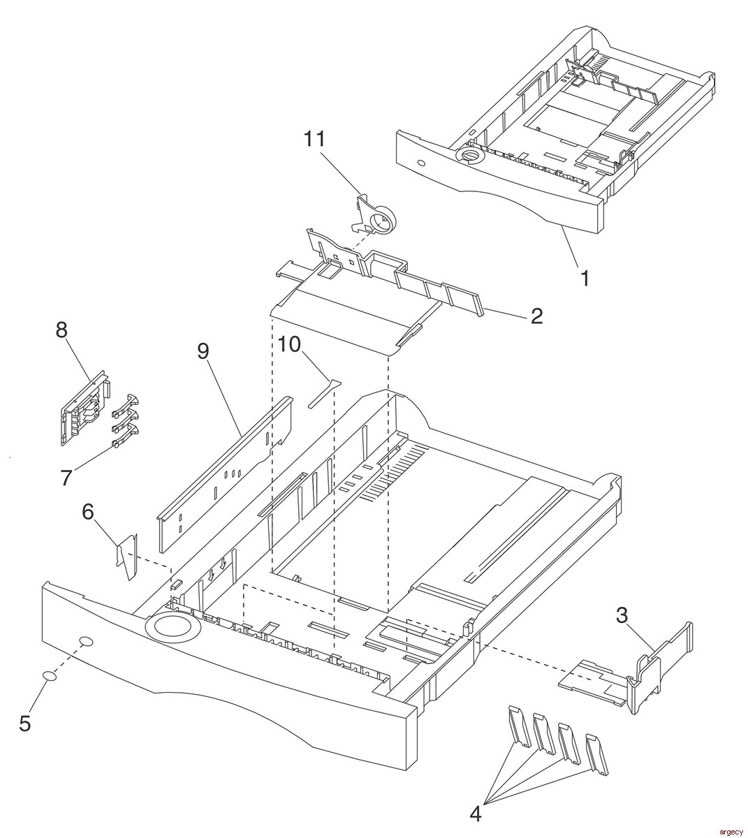Lexmark Printer Parts For Printers Mfps And Scanners
