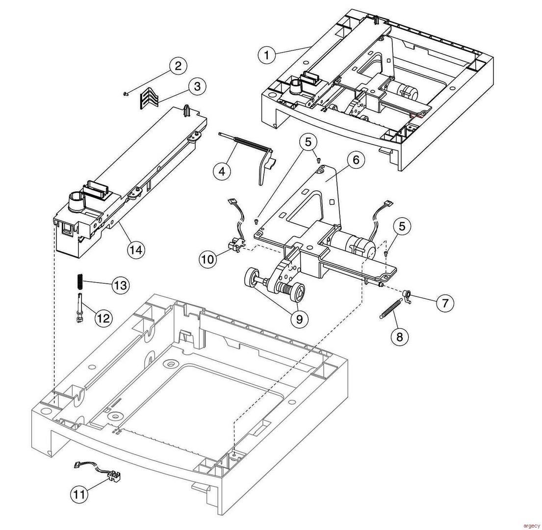 Lexmark T640 T642 T644 Parts