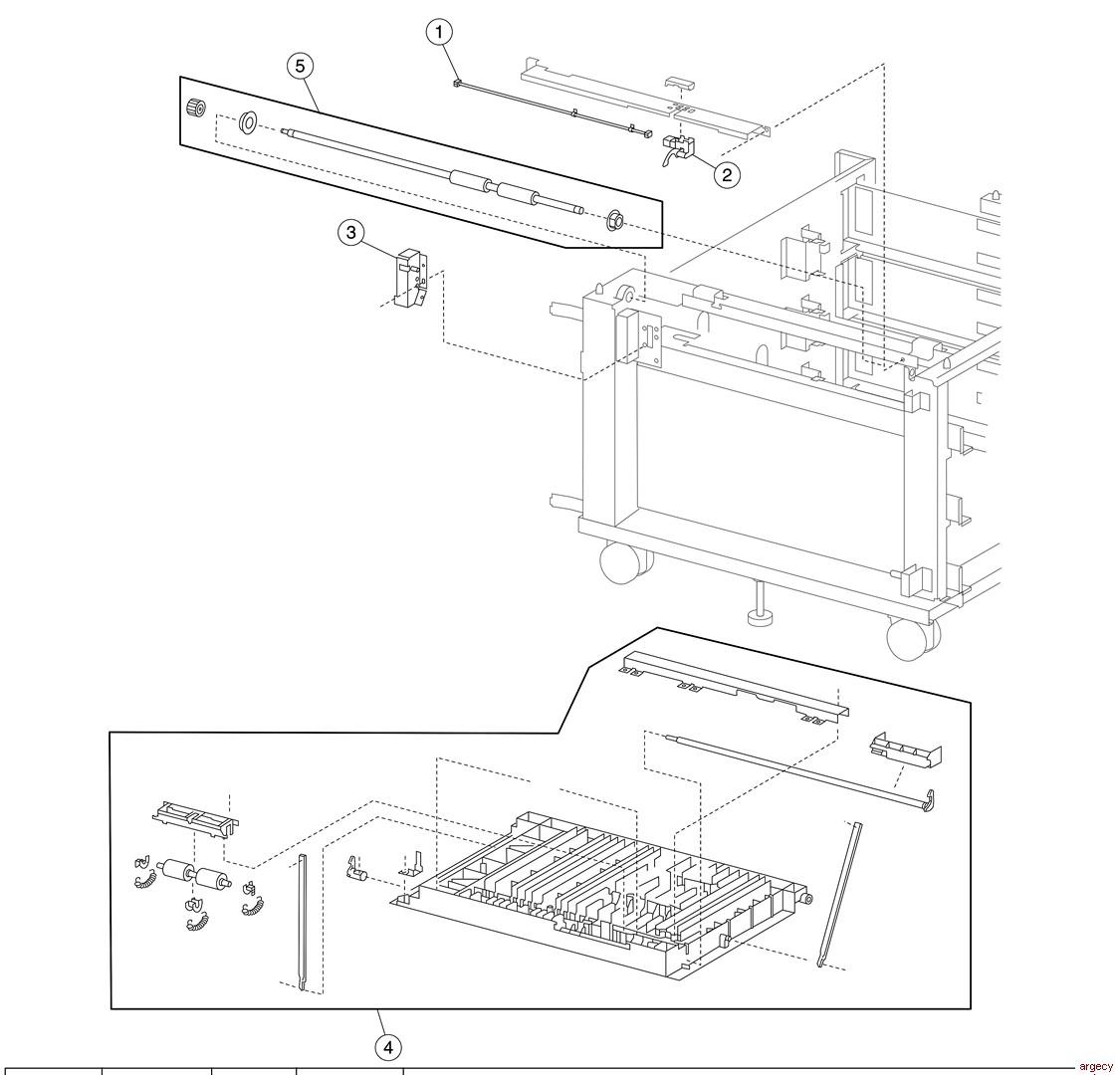 Lexmark X940e Amp X945e Parts