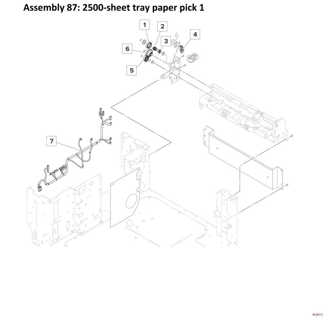 Lexmark Mx910 Mx911 Mx912 Mfp Series Parts