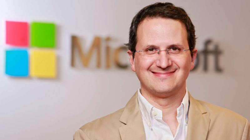 Jorge Cella, director de Filantropía de Microsoft LATAM