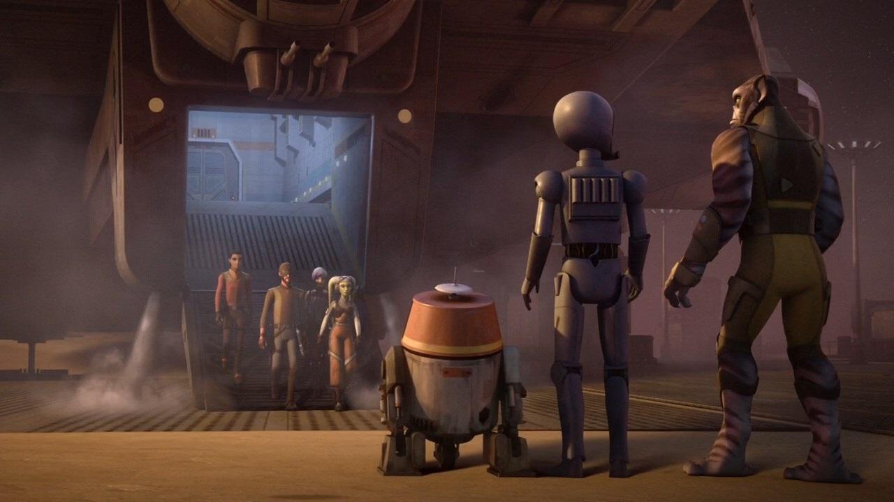 ARGENTeaM Star Wars Rebels 2014 S03E13 Warhead