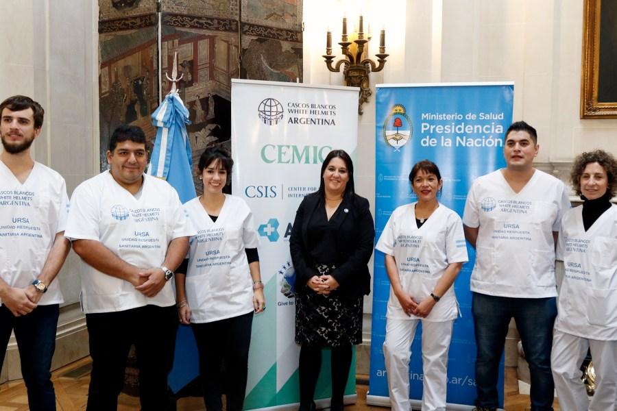 Analía López misión humanitaria en Cancillería
