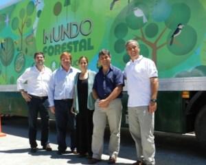 "Arauco presentó ""Mundo Forestal"" en Vicente López"