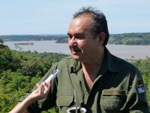 Guardaparque Miguel Azarmendia
