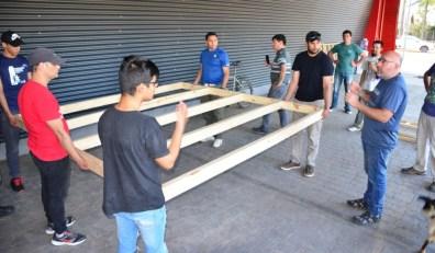 Corrientes Capacitación construcción en madera 1