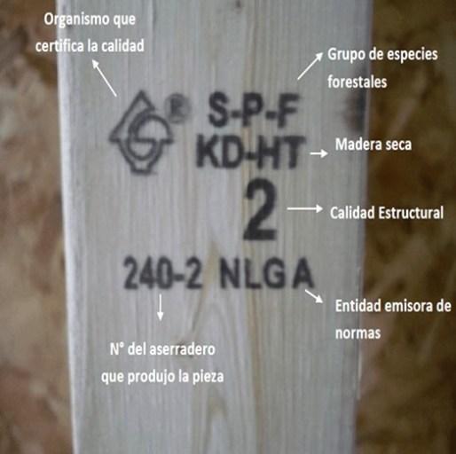 sello NLGA madera estructural