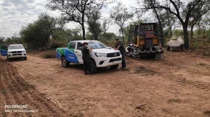 Chaco desmonte ilegal
