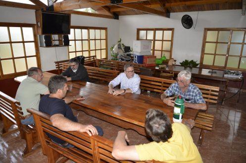 Reunion San Vicente Proyecto de Usina de Biomasa