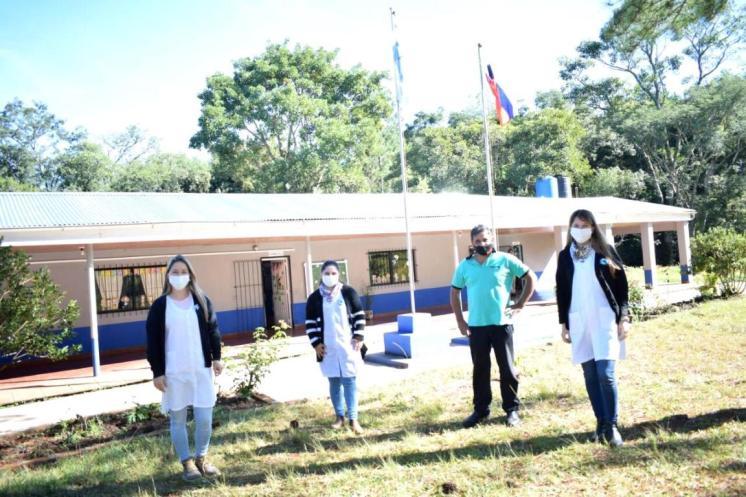Escuela 340 Colonia San Juan de la Sierra