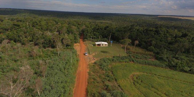 Invasion en la reserva Mbaracayu 2