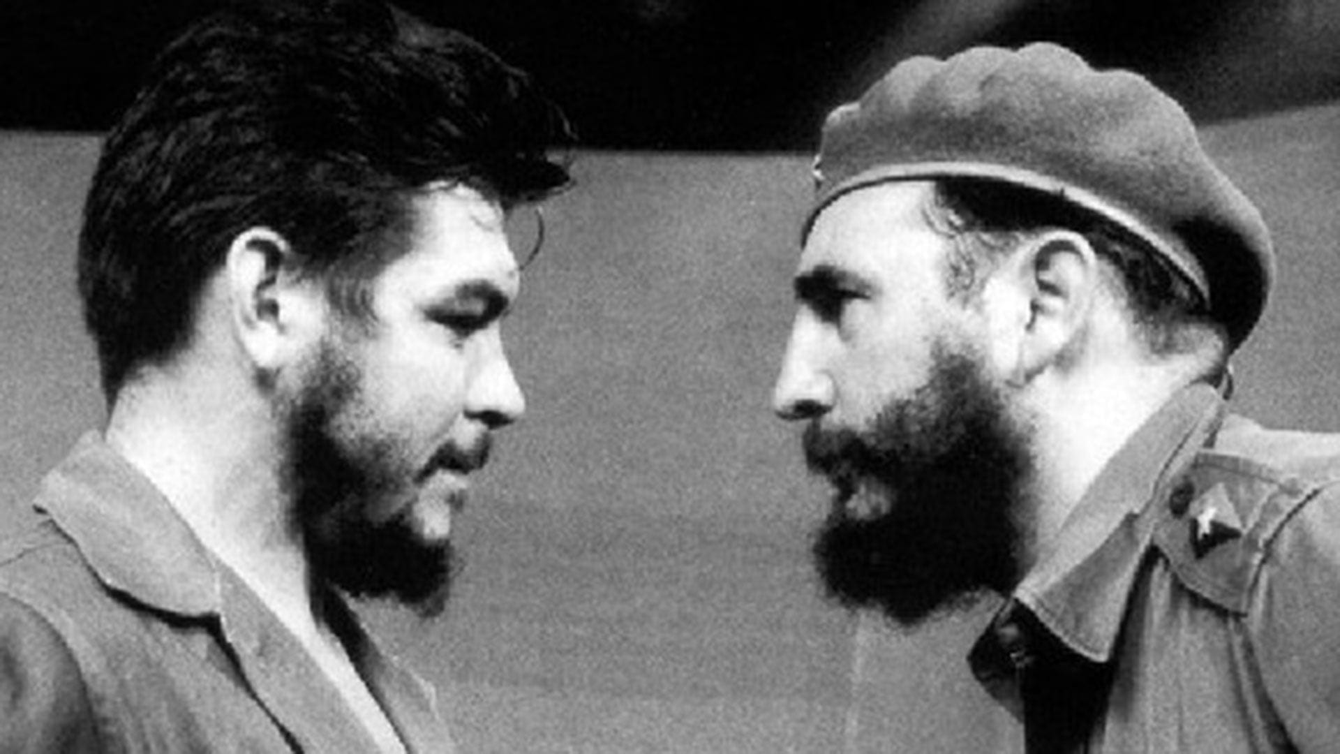 Che and Fidel in Cuba.