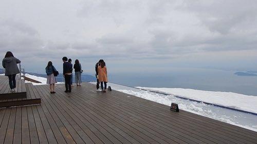 琵琶湖テラスのテラス