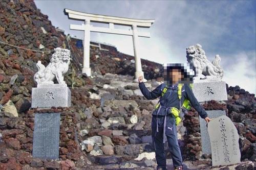 富士山登山 服装