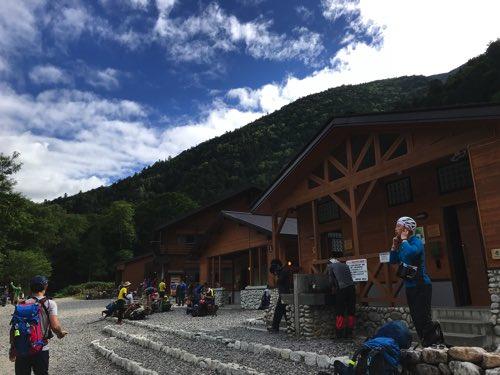 奥穂高岳登山ルート 横尾