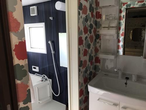 トレーラーハウス お風呂