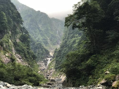 槍ヶ岳 奥穂高ルート 滝谷