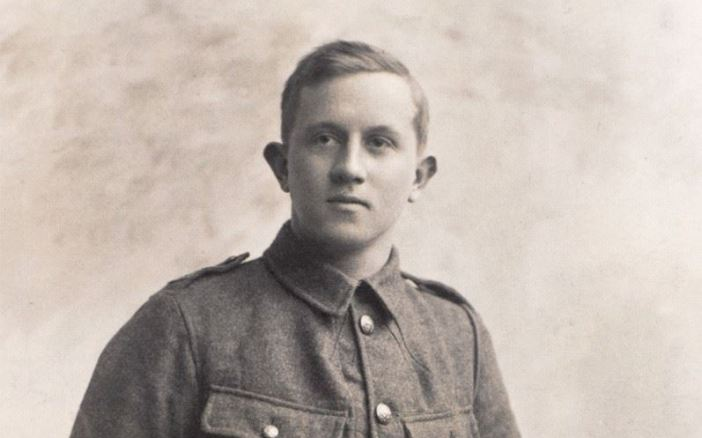Rifleman William Eve, 1/16th (County of London) Battalion (Queen's Westminster Rifles), The London Regiment, 1914. (Credits: NAM)