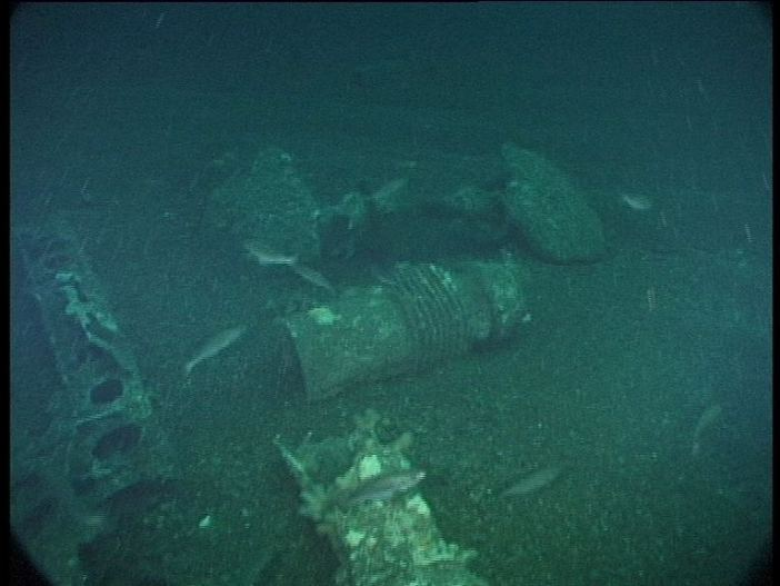 Submarine Wreck of U-155