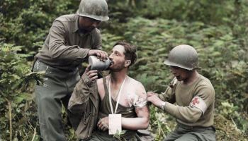 Horrors of World War I brought in colorized images