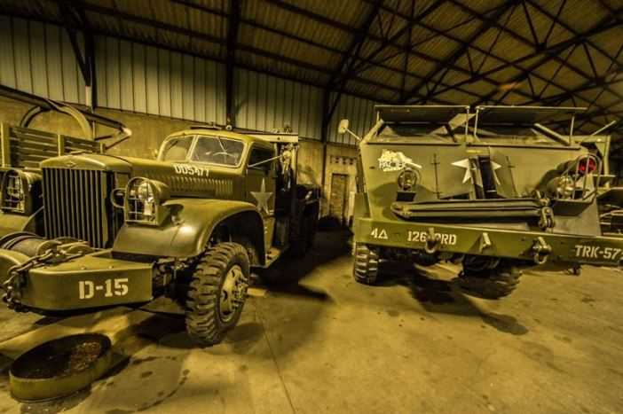 M26 Pacific - Hangar full of WW2 Vehicles, Tanks and Classic Cars (442 Explorations / Argunners Magazine)