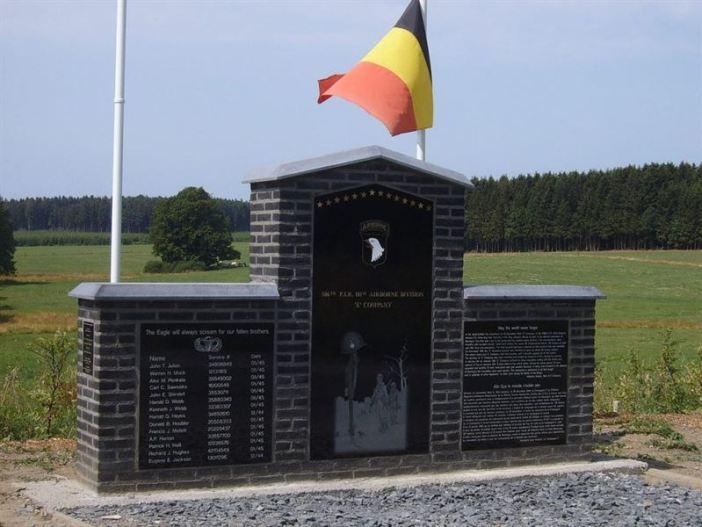 Easy Company Monument Bois de la Paix