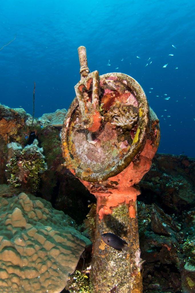 Engine order Telegraph of the Fujikawa Maru (Credits: Brandi Mueller)