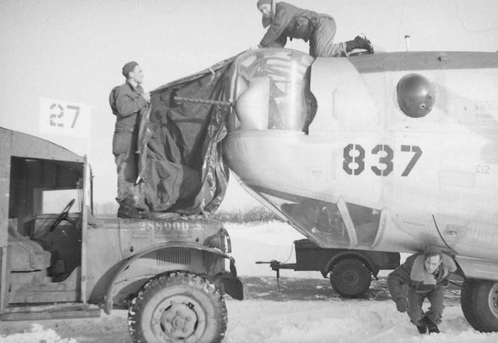 B-24J Liberator from the 755th Bombardment Squadron, 458th Bombardment Group of the Eight Air Force.