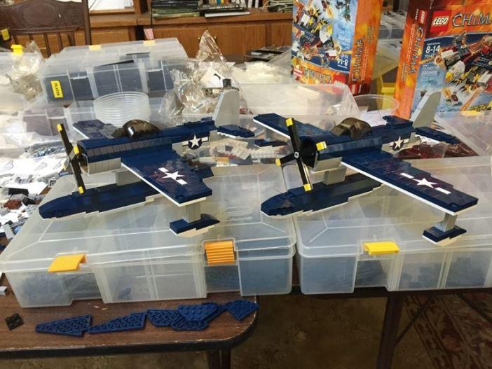 SC-1 Seahawks Lego