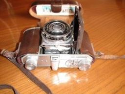 """Once Wartime Friends"" Original Camera which is still in Peter's possession."
