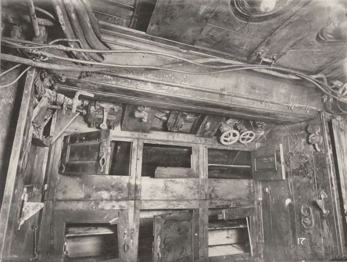 U-Boat 110 - the 3rd compartment of the Submarine and the Crew's lockers.