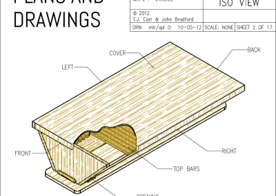 TJ Carr Top Bar Hive Plans