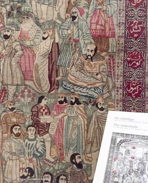 Antik Laver Kerman, med de 54 historiska storheterna