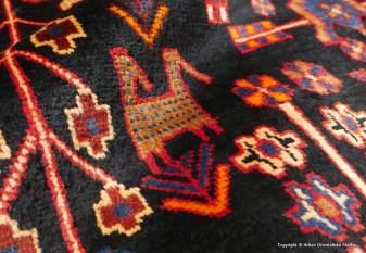 Nahavand, persisk bymatta från västra Iran. Storlek 145 x 243 cm.