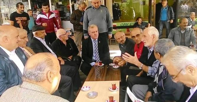 CHP Artvin Milletvekili Adayı Musa Ulutaş Çalışmalarına Devam Ediyor