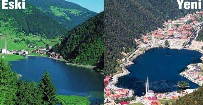"""""""Doğa Harikası Olan Uzungöl, Şimdi Havuzlu Siteye Döndü!"""""""