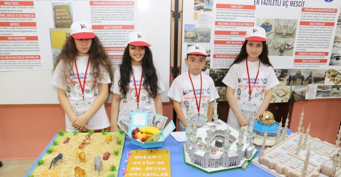 Arhavi Kavak Nuri Özaltın 75. Yıl İlk/Ortaokulunda  Tubitak Bilim Fuarı Açıldı