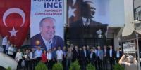 Arhavi CHP Seçim Çalışmalarına Esnaf Ziyareti İle Devam Etti