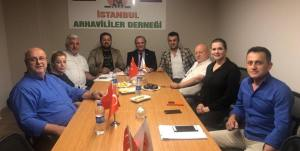 Vasfi Kurdoğlu'ndan İSTAD'a Ziyaret