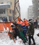 İlçemizde Kar Nedeniyle Bir Çok Yer Yıkıldı