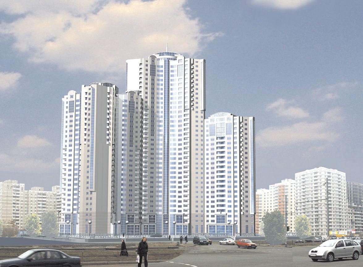 Будущее высотное здание
