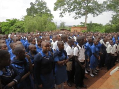 Namataba Secondary School assembly