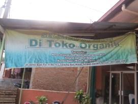 Organic shop in Medan