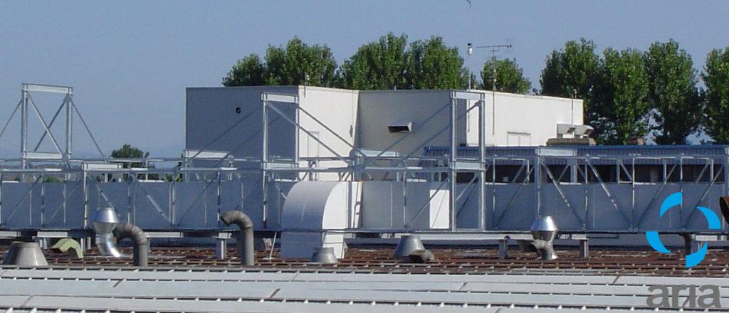 grandi impianti climatizzazione esterno