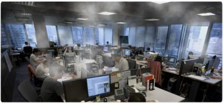 inquinamento indoor ufficio