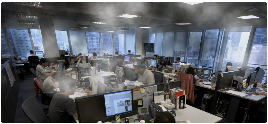 inquinamento indoor ufficio - indoor pollution office