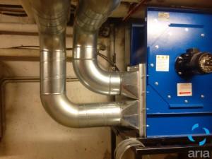 grandi impianti climatizzazione tubo spiro