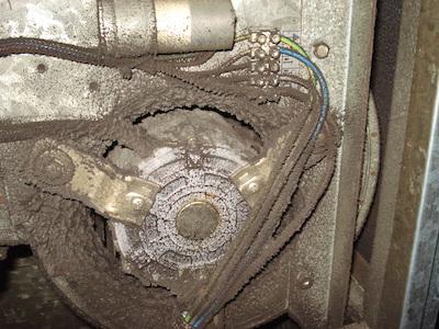 ventilatore sporco
