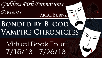 Virtual Book Tour - Bonded By Blood Vampire Chronicles