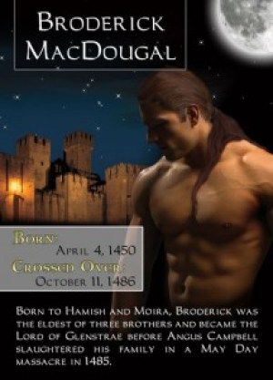 Broderick MacDougal - Bonded By Blood Vampire Chronicles